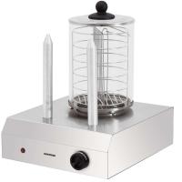 Syntrox Hot Dog Maker mit 2 Spießen Würstchenwärmer Bockwurstwärmer