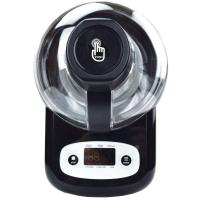 Syntrox Selbstkühlende, Extrem leichte und Stromsparende Eismaschine GG-90W Frozen Yo