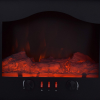 Syntrox Elektrokamin elektrischer Elektro Kamin Standkamin mit Flammeffekt Alicante