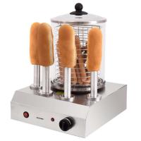 Syntrox Hot Dog Maker mit 4 Spießen Würstchenwärmer Bockwurstwärmer