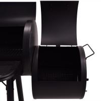 Syntrox Doppel Smoker mit Räucherofen