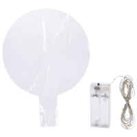 Deko-Ballon mit 30 bunte LEDs