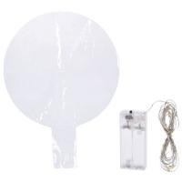 Deko-Ballon mit 30 warmweißen LEDs