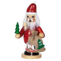 HGD Holz-Glas-Design Räuchermännchen Weihnachtsmann