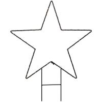 Mark Slöjd LED-Motiv Stern Deko-Stern 40 ww LEDs MYSTIC H 62 cm