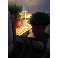 LED-Akkutischleuchte NUINDIE weiss