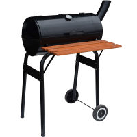Syntrox Smoker Barbecue Holzkohlegrill mit Ablage