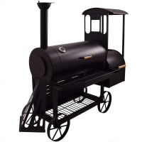 Syntrox Smoker Lokomotive mit Räucherofen