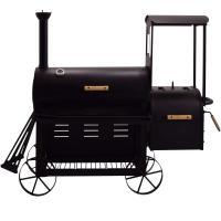 Syntrox Smoker Lokomotive mit Räucherofen