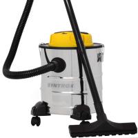 Syntrox 2 in 1 Aschesauger und Staubsauger Edelstahl 20 Liter mit Motor Feinstaubsauger