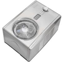 Syntrox Digitale Eismaschine mit Kompressor Softeismaschine und Joghurt-Bereiter 1,5
