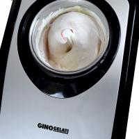 Syntrox Vollautomatische Eismaschine Edelstahl mit Kompressor Softeismaschine GG-220W