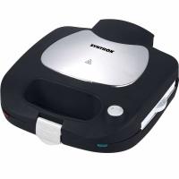 Syntrox Kontaktgrill Grillmaker mit austauschbaren Backplatten SM-1300W