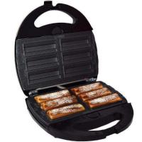 Syntrox Churros Maker Krapfenmaker mit austauschbaren Backplatten SM-1300W