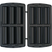 Syntrox Churros Platten Krapfenplatten für Chef Maker SM-1300W
