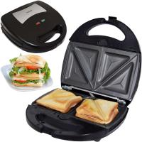 Syntrox Sandwichmaker mit austauschbaren Backplatten SM-1300W