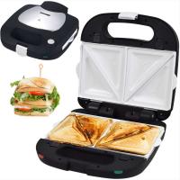 Syntrox Sandwichmaker Muschelform mit keramisch beschichteten Backplatten SM-1500W