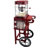 Syntrox Untergestell Popcornwagen für Popcorn Maker mit zwei Reifen PCM-UG Idaho