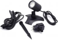 Ubbink AQUASPOTLIGHT Power LED - Unterwasser-Spot, Trafo 12V, MR16 Power-LED warmweiß - 330 Lumen, EEK A+, 3W