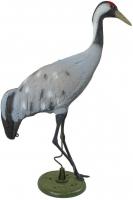 Ubbink Kanadischer Kranich - naturgetreue Nachbildung, mit Erdspieß - H121 cm