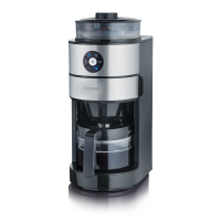 Severin Kaffeeautomat, KA 4811, 820W, mit Mahlwerk