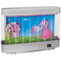 LeuchtenDirekt LED-Kinderleuchte Prinzessin mit Einhorn