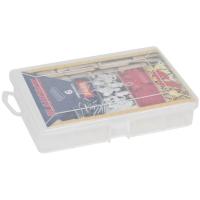 Plano Kleinteilebox, mit Klappdeckel und Verschluss 6 feste Fächer