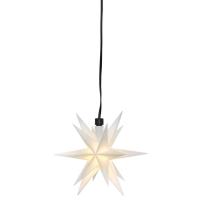 Sterntaler LED-Weihnachtsstern weiß mit Fernbedienung