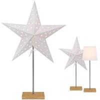 Star Trading Weihnachtsstern Tischleuchte Combi Pack Leo