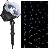 LED-Projektor, Schneefalleffekt, mit Fernbedienung