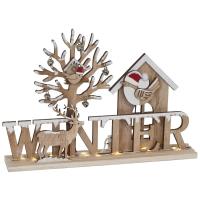 Weihnachtsleuchter Winter