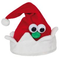 singende, wedelnde Weihnachtsmütze