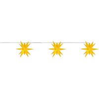 LED Babysterne, 3er-Kette Ø 8 cm, gelb, batteriebetrieb