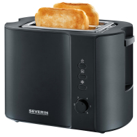 SEVERIN Automatik-Toaster, AT 9552, schwarz-matt