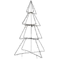 LED-Leuchter Tannenbaum, 200 warmweiße LEDs, H 1.350, Ø 900 mm