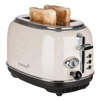 KORONA Retro-Toaster, 21666, Creme