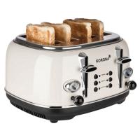 KORONA Retro-Toaster, 21676, Creme