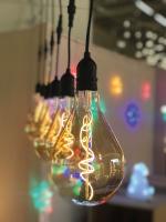 LED-Spiral-Lampe Edison Vintage 25cm