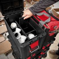 MILWAUKEE Koffer, Packout, Koffer inkl. kleiner Werkzeugtrage