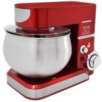 Küchenmaschine Knetmaschine 5,0 Liter 1000 Watt - rot