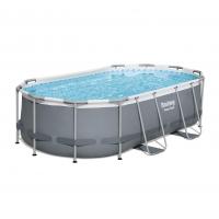 Bestway Power Steel Frame Pool Komplettset 427 x 250 x 100 cm