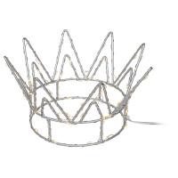 LED-Krone Crown 70 warmweiße LEDs