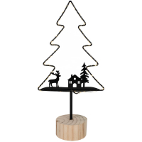 Weihnachtsleuchter Glimta Tannenbaum 50 warmweiße LEDs