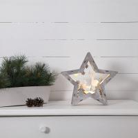 Star Trading LED-Weihnachtsbild Fauna 10 warmweiße LEDs