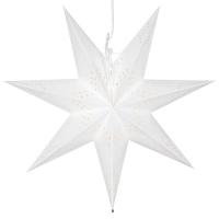 Star Trading Weihnachtsstern Romantic Papier weiß