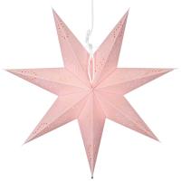 Star Trading Weihnachtsstern Romantic Papier rosa