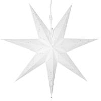 Star Trading Weihnachts-Hängestern Sensy Papier weiß