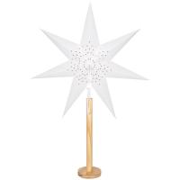 Star Trading Weihnachtsstern Elice Holz natur