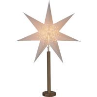 Star Trading Weihnachtsstern Elice Holz eiche