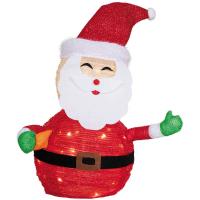 Star Trading LED-Figur Weihnachtsmann TECIDY Batteriebetrieb